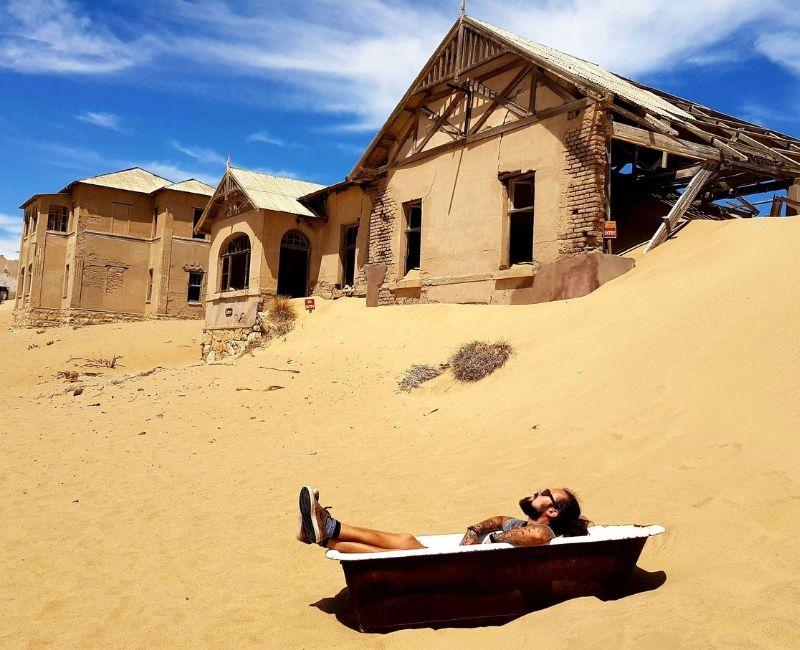 Namibia Kolmannskuppe