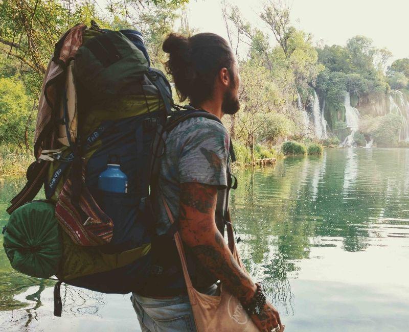Wasserfall Bosnien