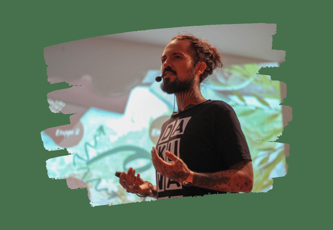 Vortragsreihe Anekdoten eines Beifahrers von Daniel Dakuna